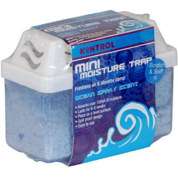 KONTROL MINI MOISTURE TRAP - DEHUMIDIFIER - OCEAN SPRAY - 100G